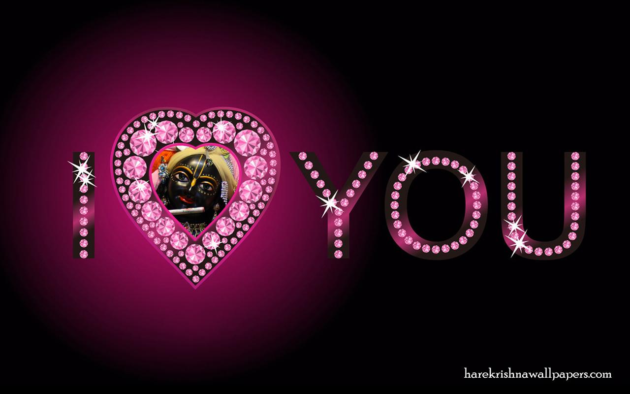 I Love You Govind Wallpaper (007) Size 1280x800 Download
