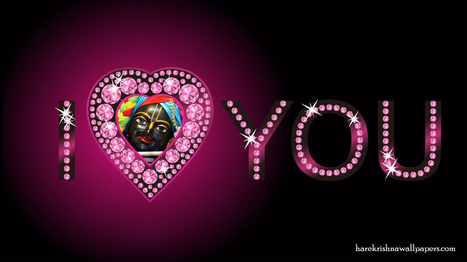 I Love You Govind Wallpaper (008) Size 1600x900 Download