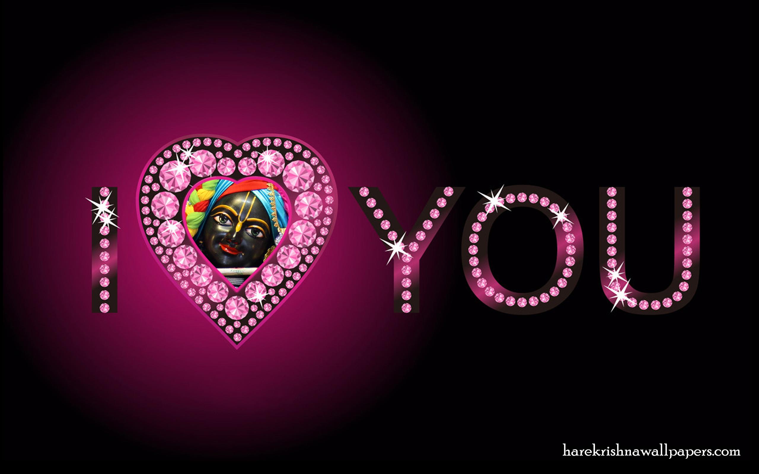 I Love You Govind Wallpaper (008) Size 2560x1600 Download