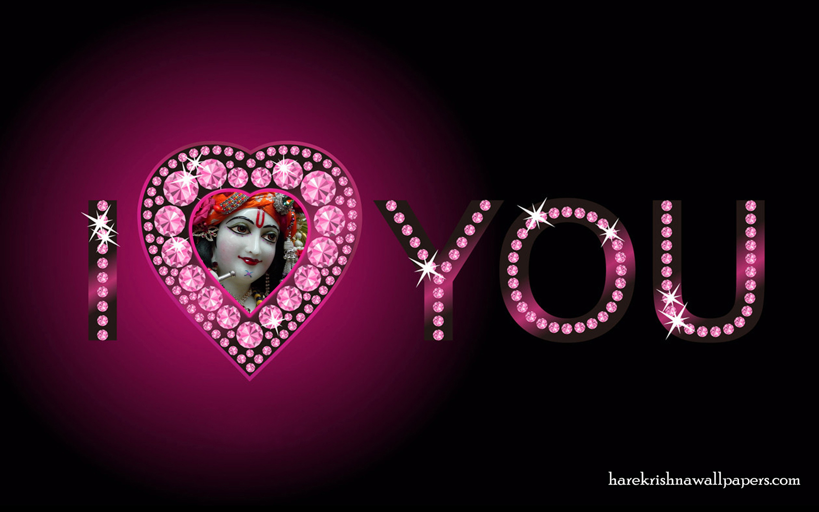 I Love You Giridhari Wallpaper (010) Size 1680x1050 Download