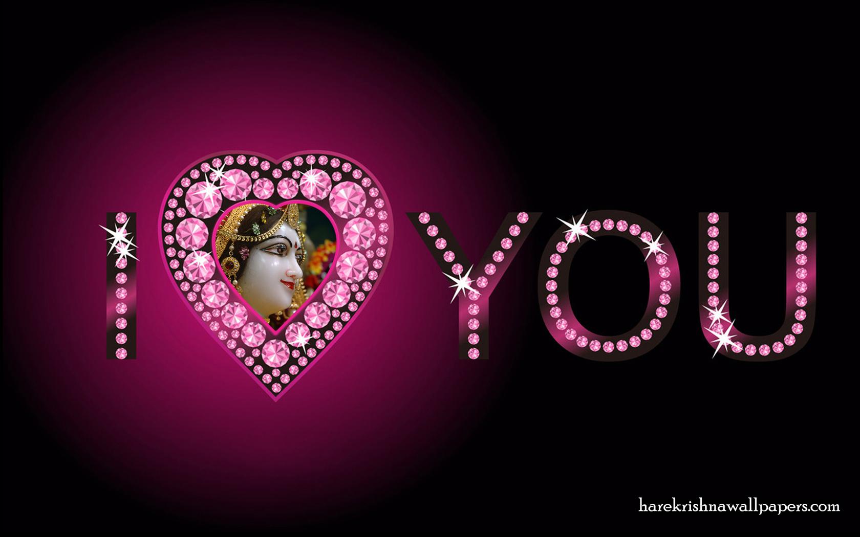 I Love You Radharani Wallpaper (011) Size 1680x1050 Download