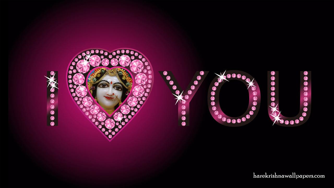 I Love You Radharani Wallpaper (012) Size1280x720 Download