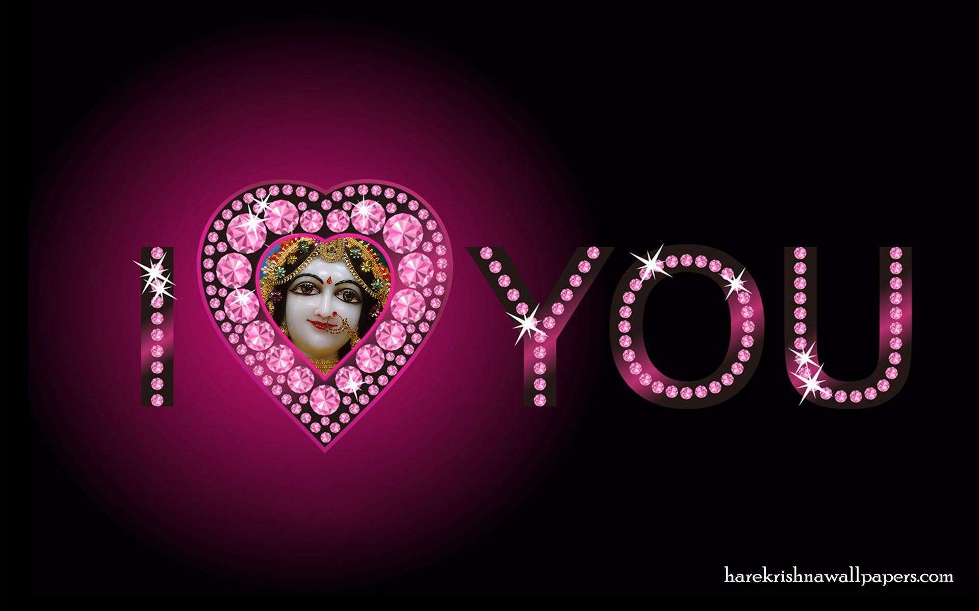 I Love You Radharani Wallpaper (012) Size 1920x1200 Download