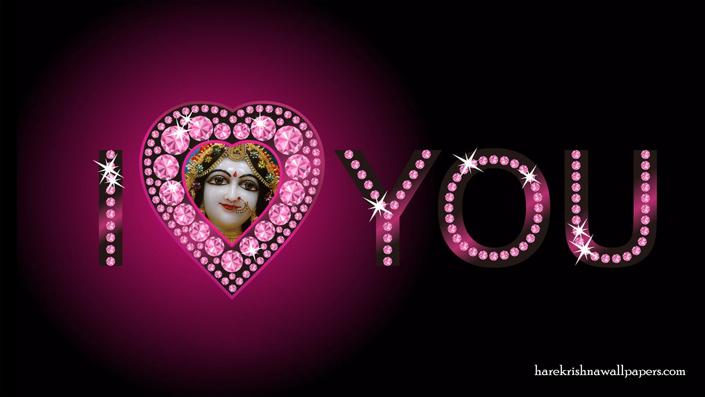 I Love You Radharani Wallpaper (012) Size 2400x1350 Download