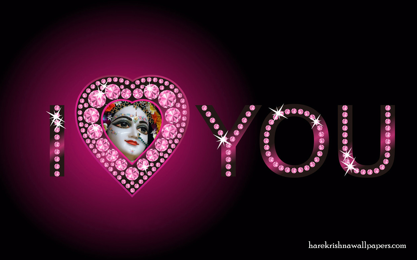 I Love You Radharani Wallpaper (013) Size 1680x1050 Download