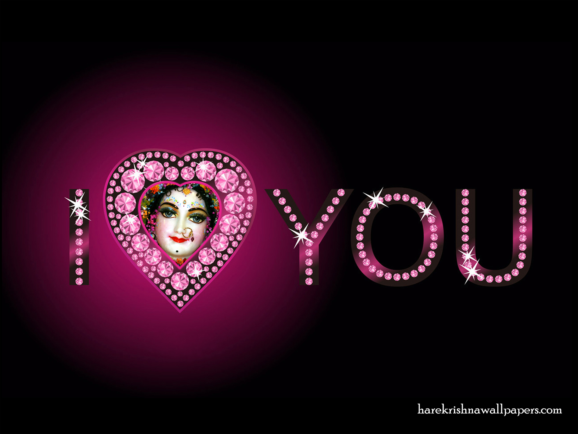 I Love You Radharani Wallpaper (014) Size 1920x1440 Download