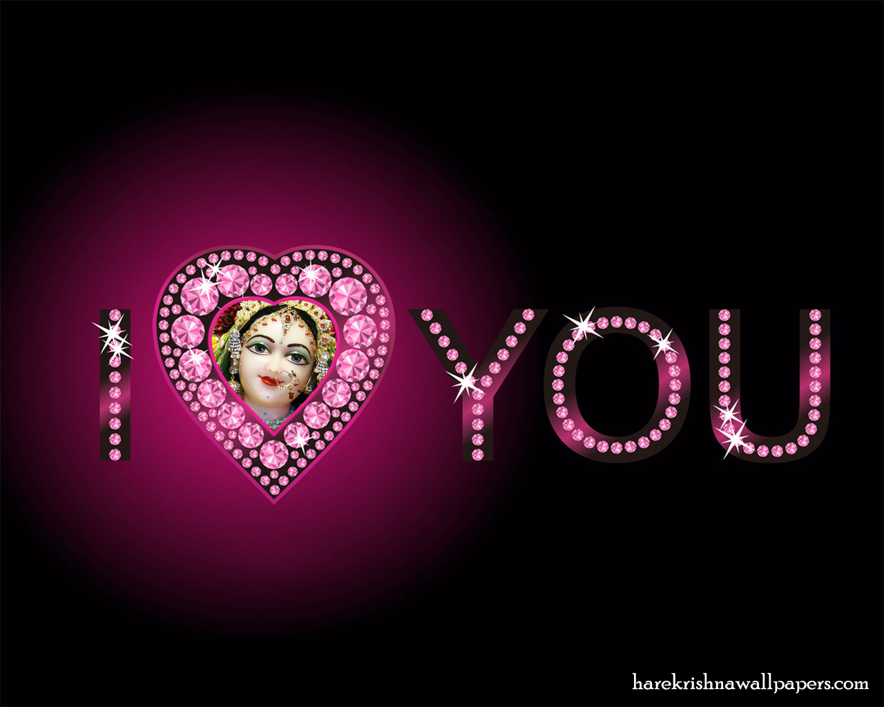 I Love You Radharani Wallpaper (015) Size 1280x1024 Download