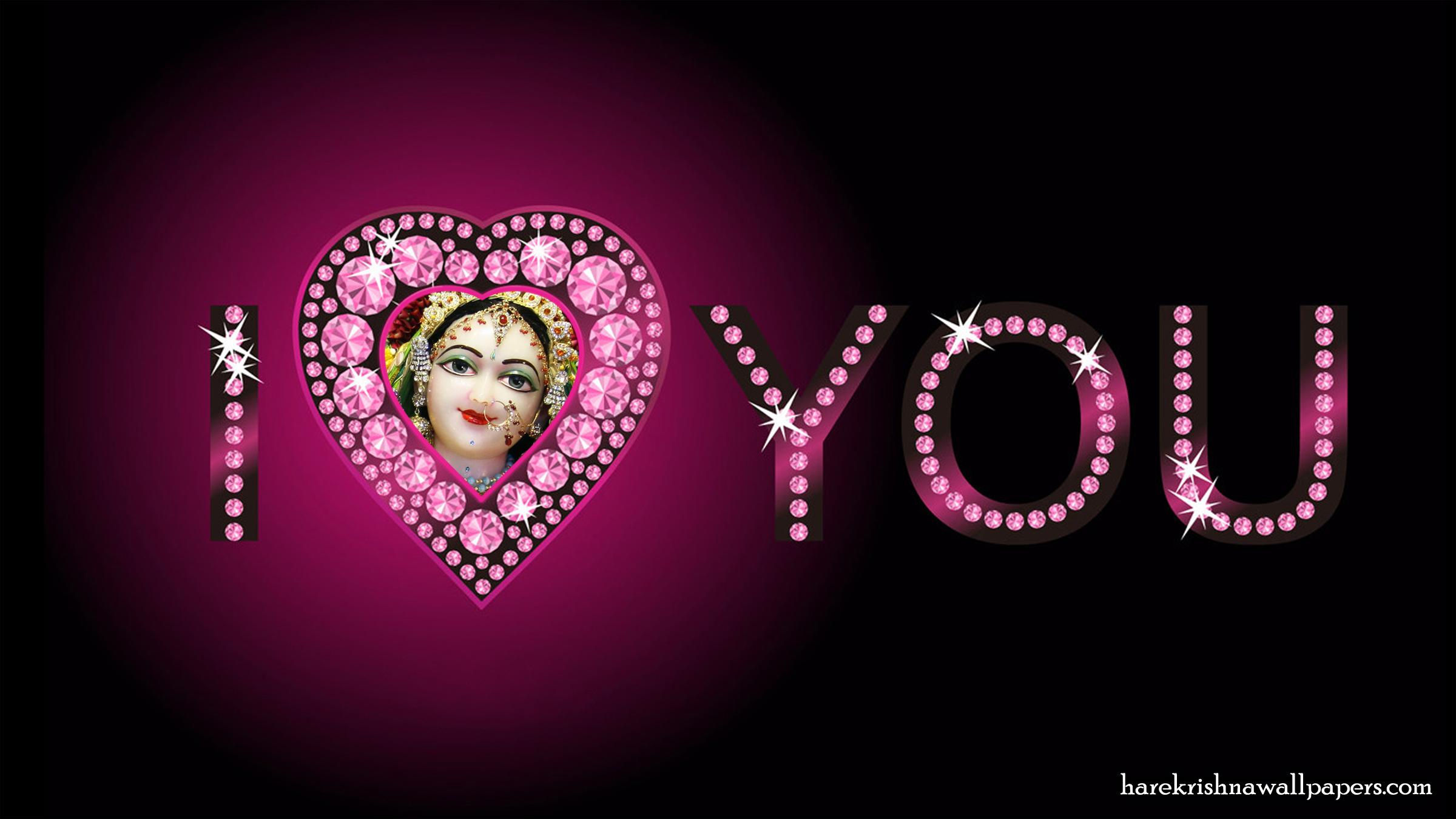 I Love You Radharani Wallpaper (015) Size 2400x1350 Download
