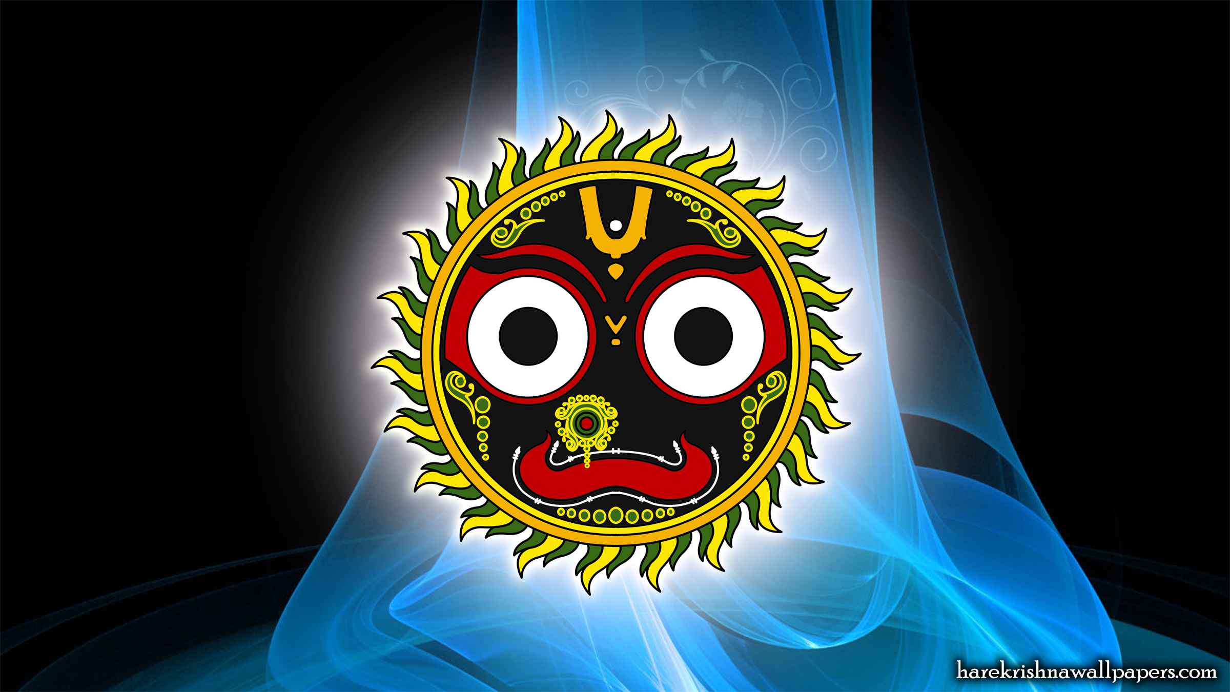 Jai Jagannath Wallpaper (005) Size 2400x1350 Download