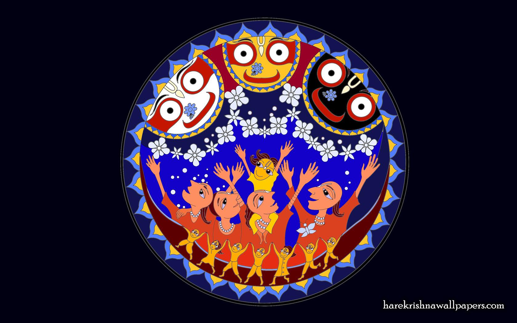 Jai Jagannath Wallpaper (056) Size 1680x1050 Download