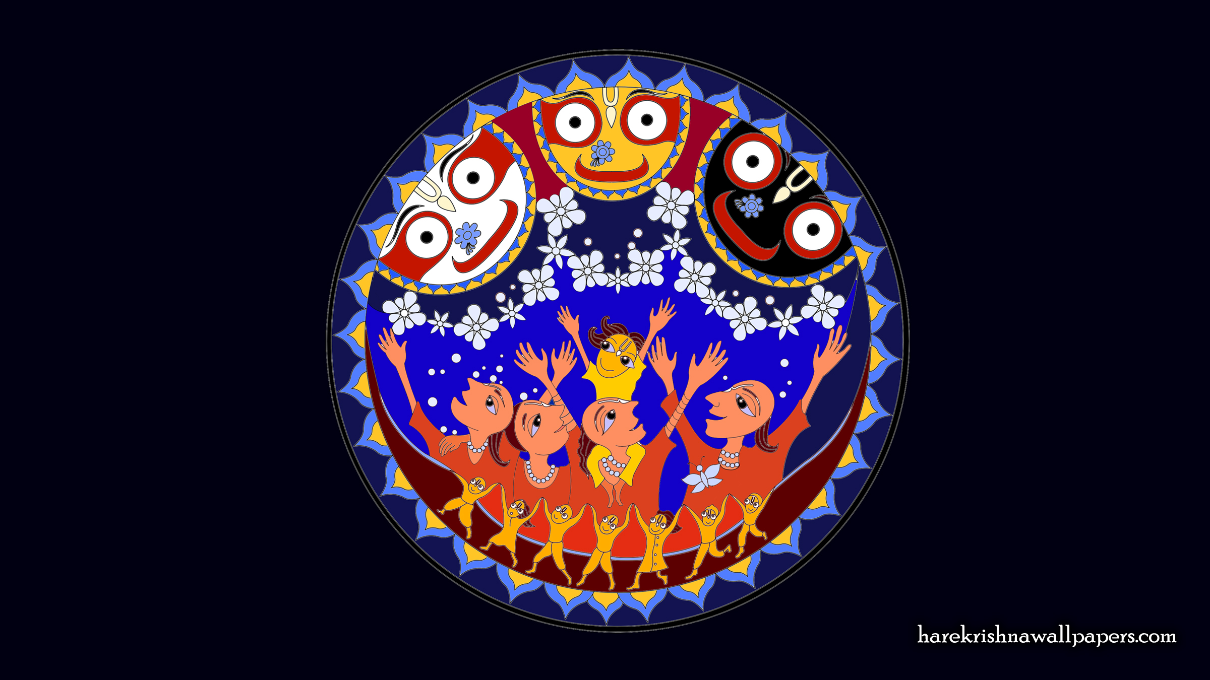 Jai Jagannath Wallpaper (056) Size 2400x1350 Download