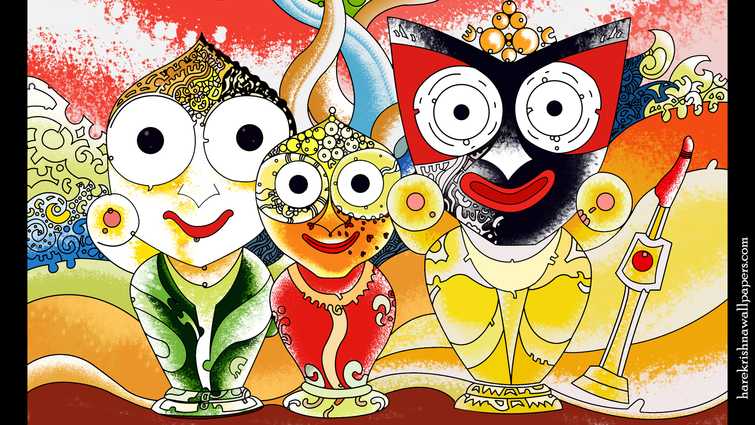 Jai Jagannath Wallpaper (057) Size 2400x1350 Download