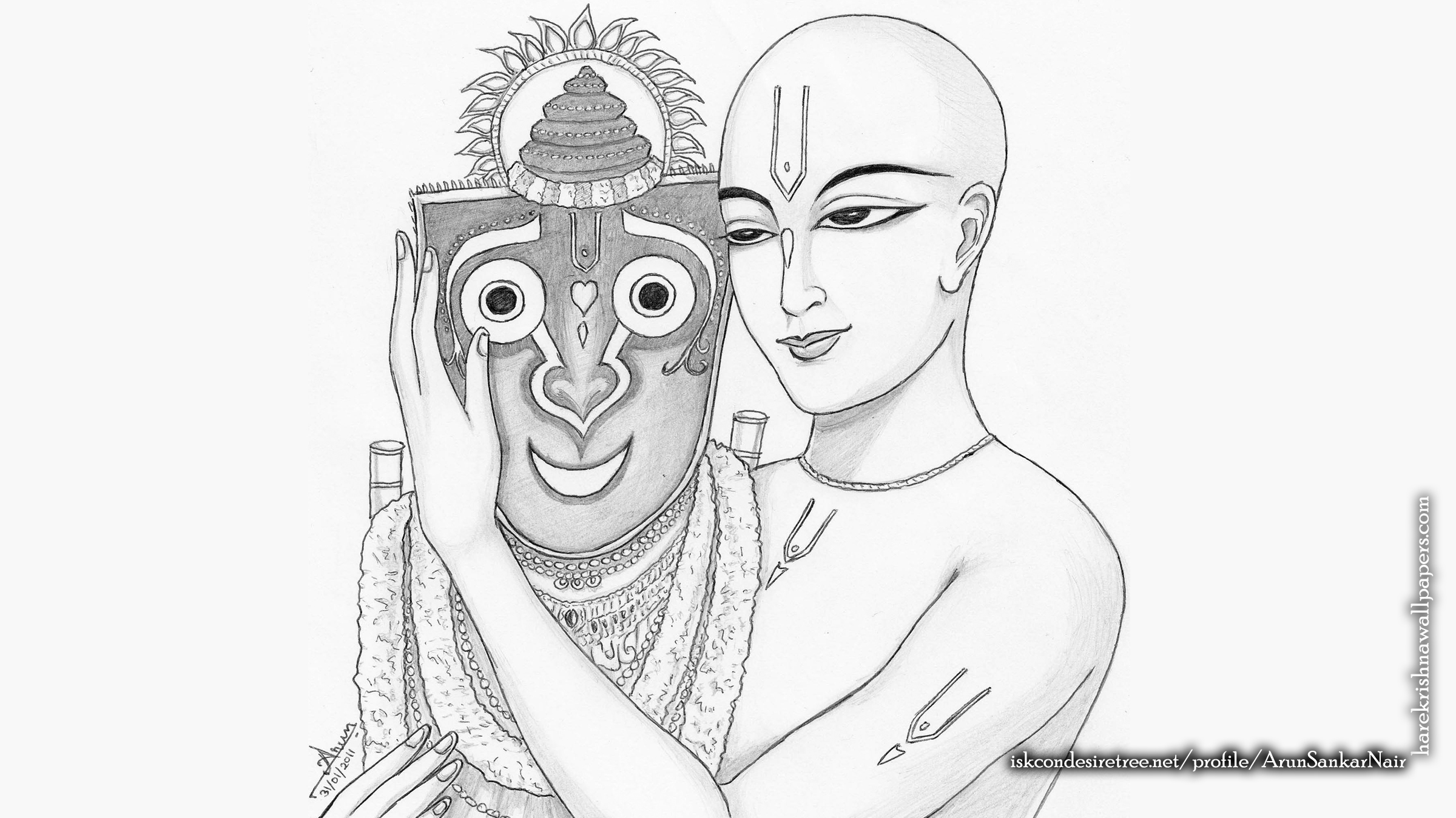 Jai Jagannath Wallpaper (061) Size 2400x1350 Download