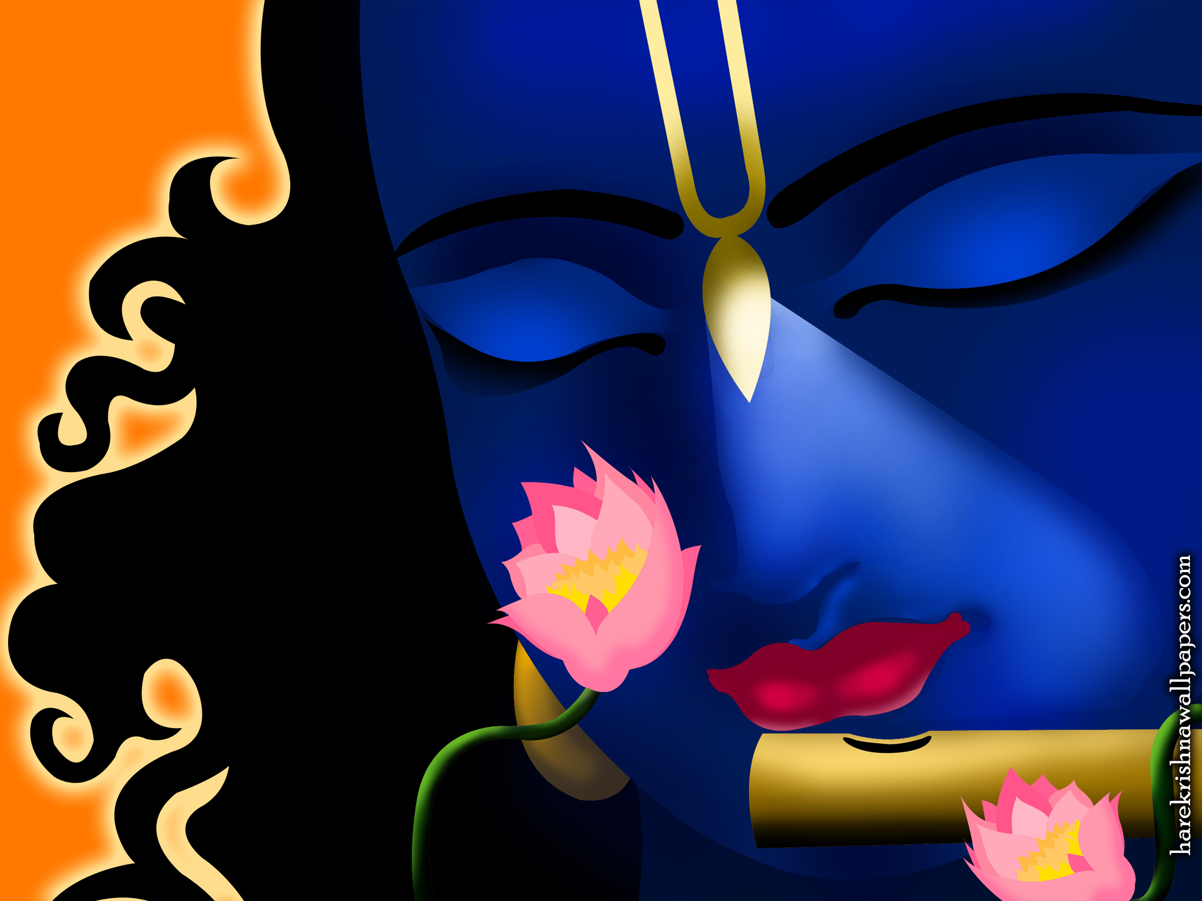 Krishna Wallpaper (002) Size 2400x1800 Download