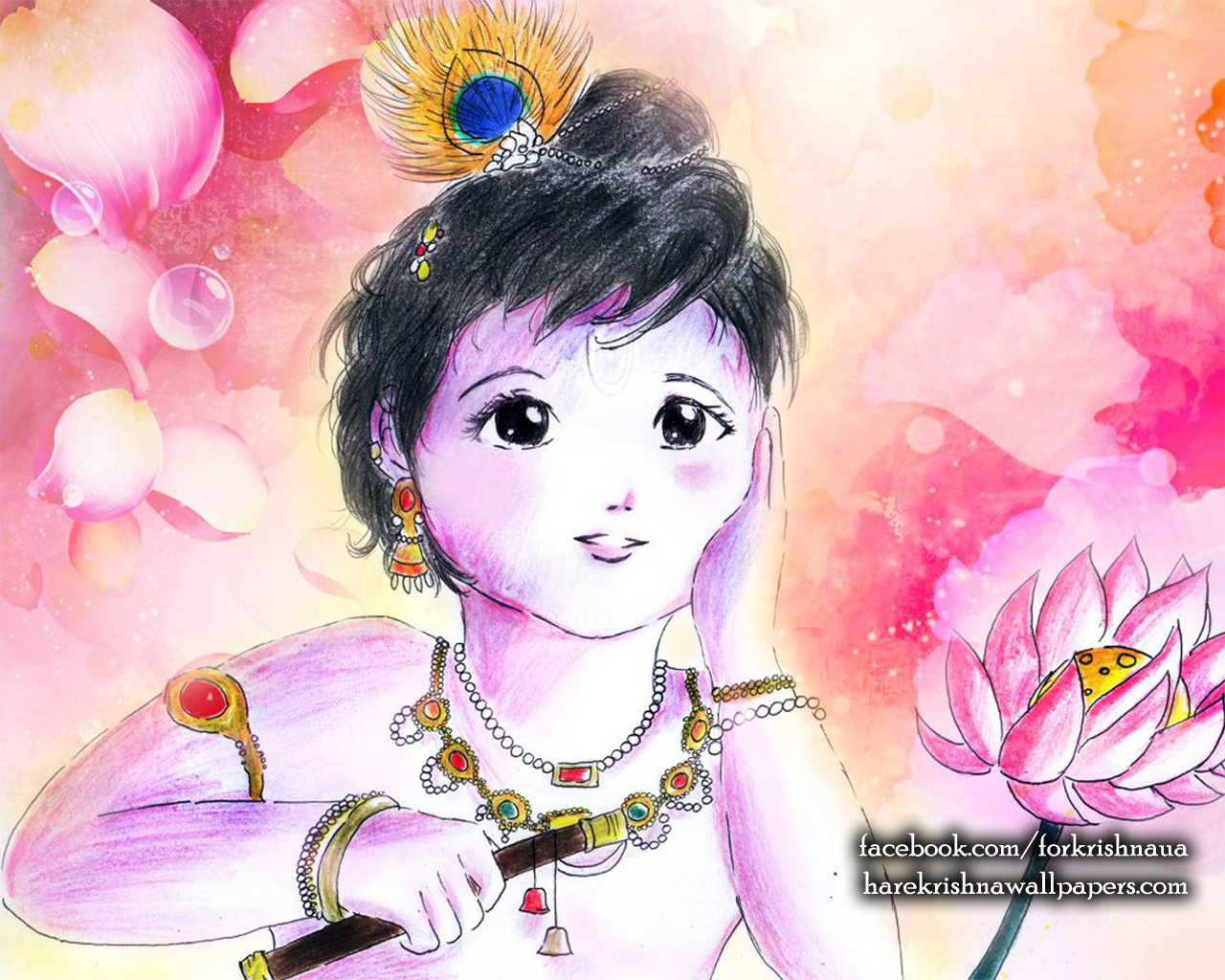 Krishna Wallpaper (003) Size 1280x1024 Download