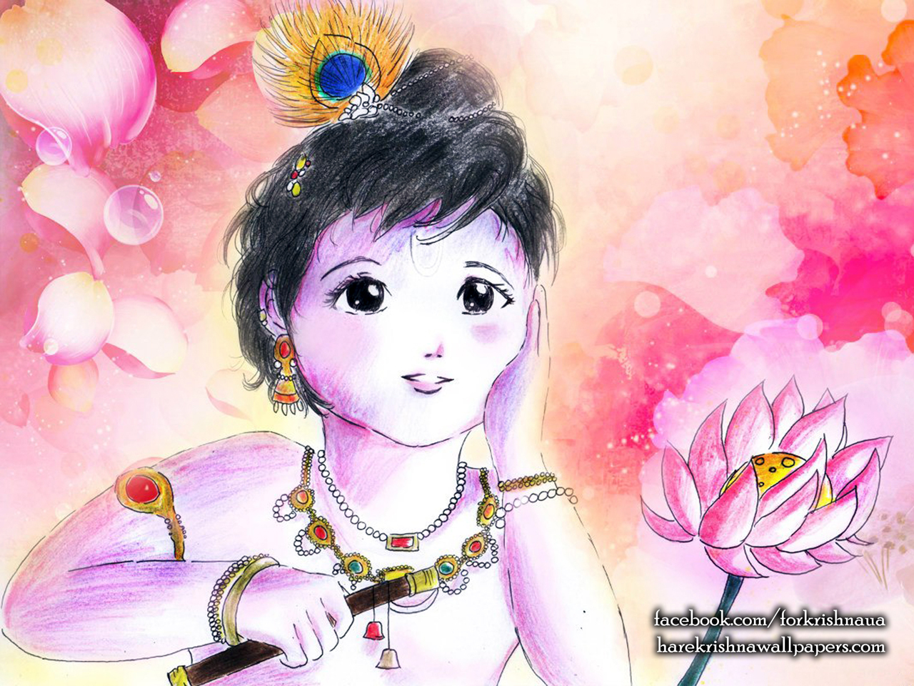 Krishna Wallpaper (003) Size 1280x960 Download