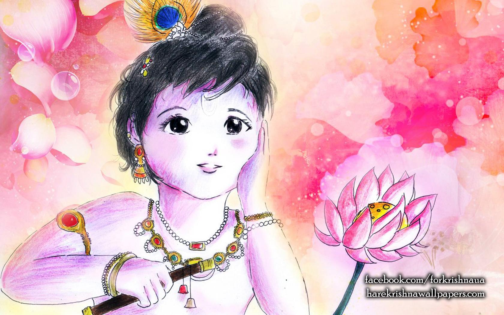 Krishna Wallpaper (003) Size 1680x1050 Download