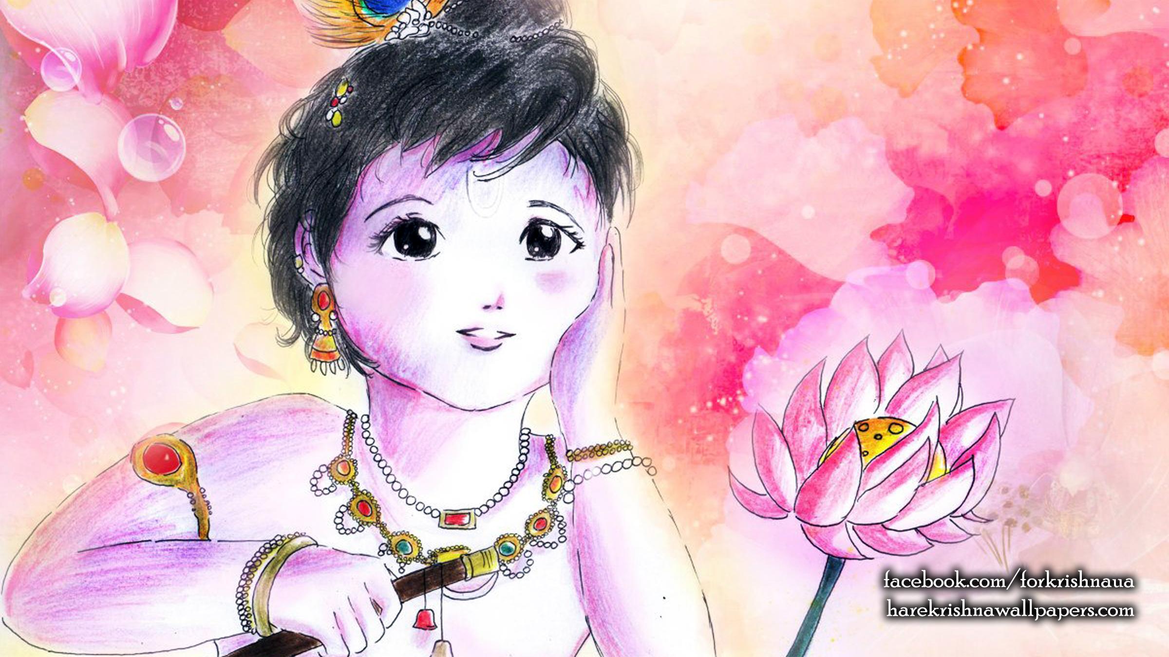 Krishna Wallpaper (003) Size 2400x1350 Download