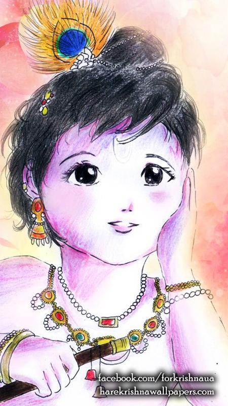 Krishna Wallpaper (003) Size 450x800 Download