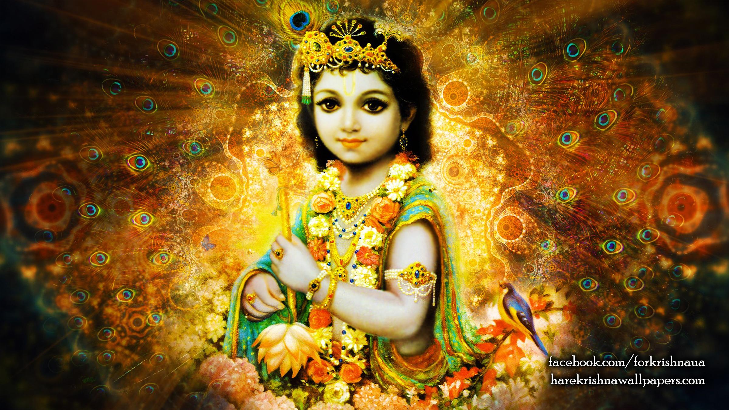 Krishna Wallpaper (004) Size 2400x1350 Download
