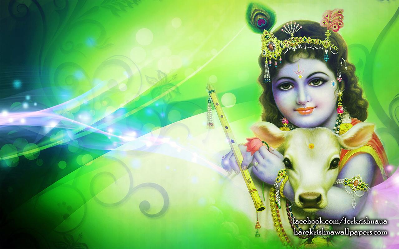 Krishna Wallpaper (007) Size 1280x800 Download