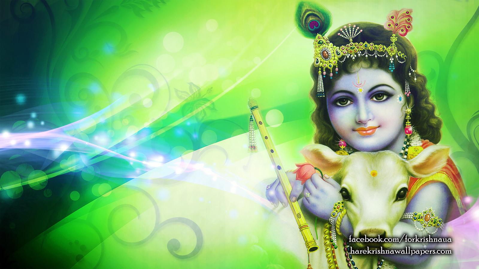 Krishna Wallpaper (007) Size 1600x900 Download