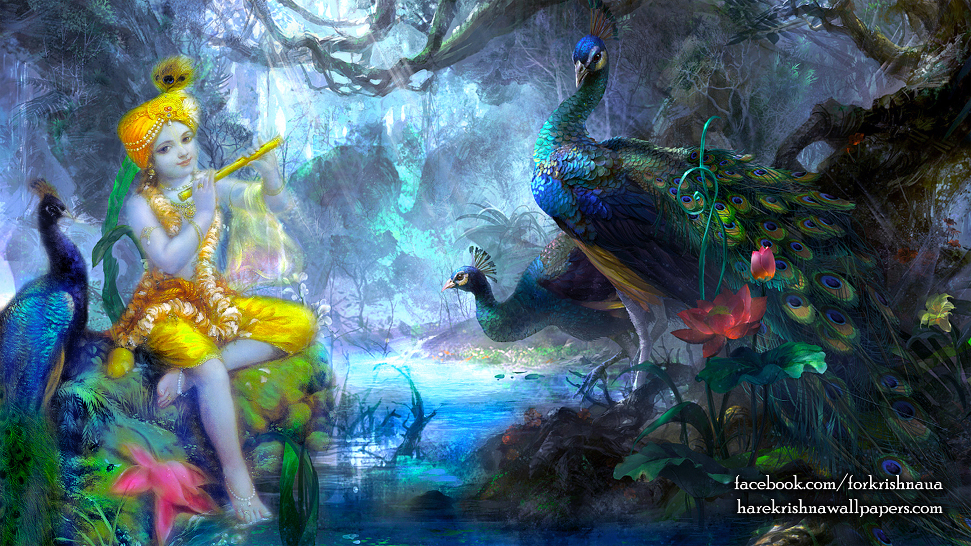 Krishna Wallpaper (009) Size 1920x1080 Download