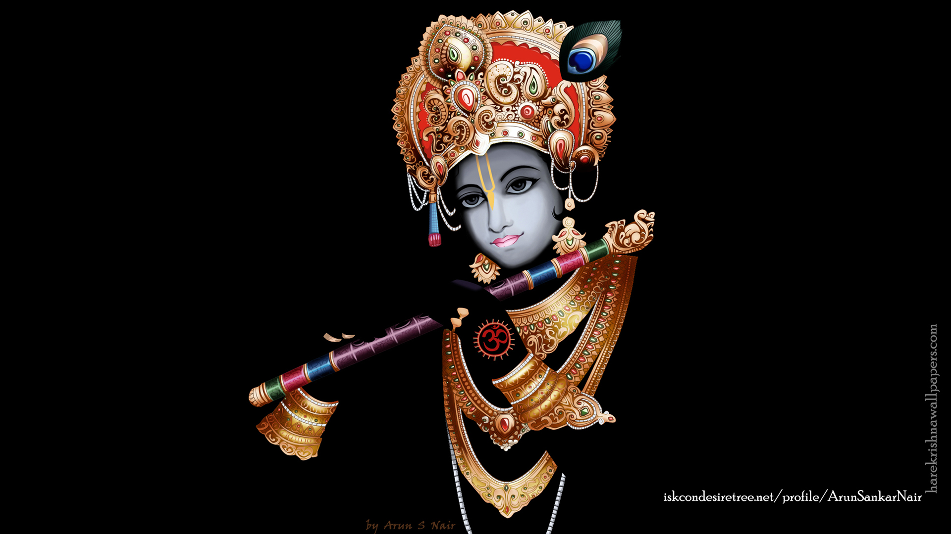 Krishna Wallpaper (016) Size 1920x1080 Download