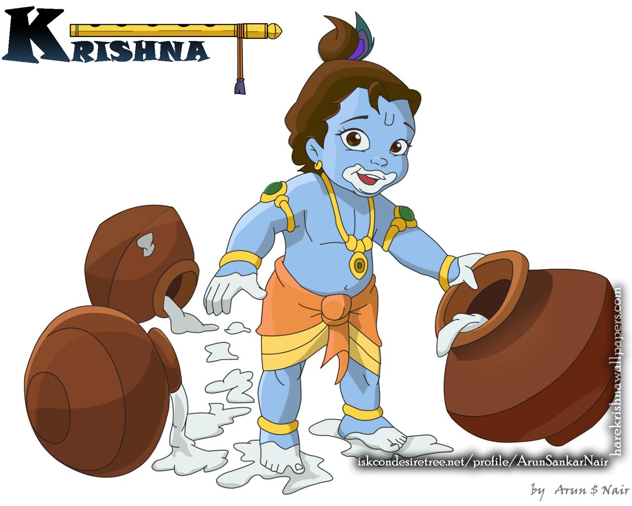 Krishna Wallpaper (017) Size 1280x1024 Download