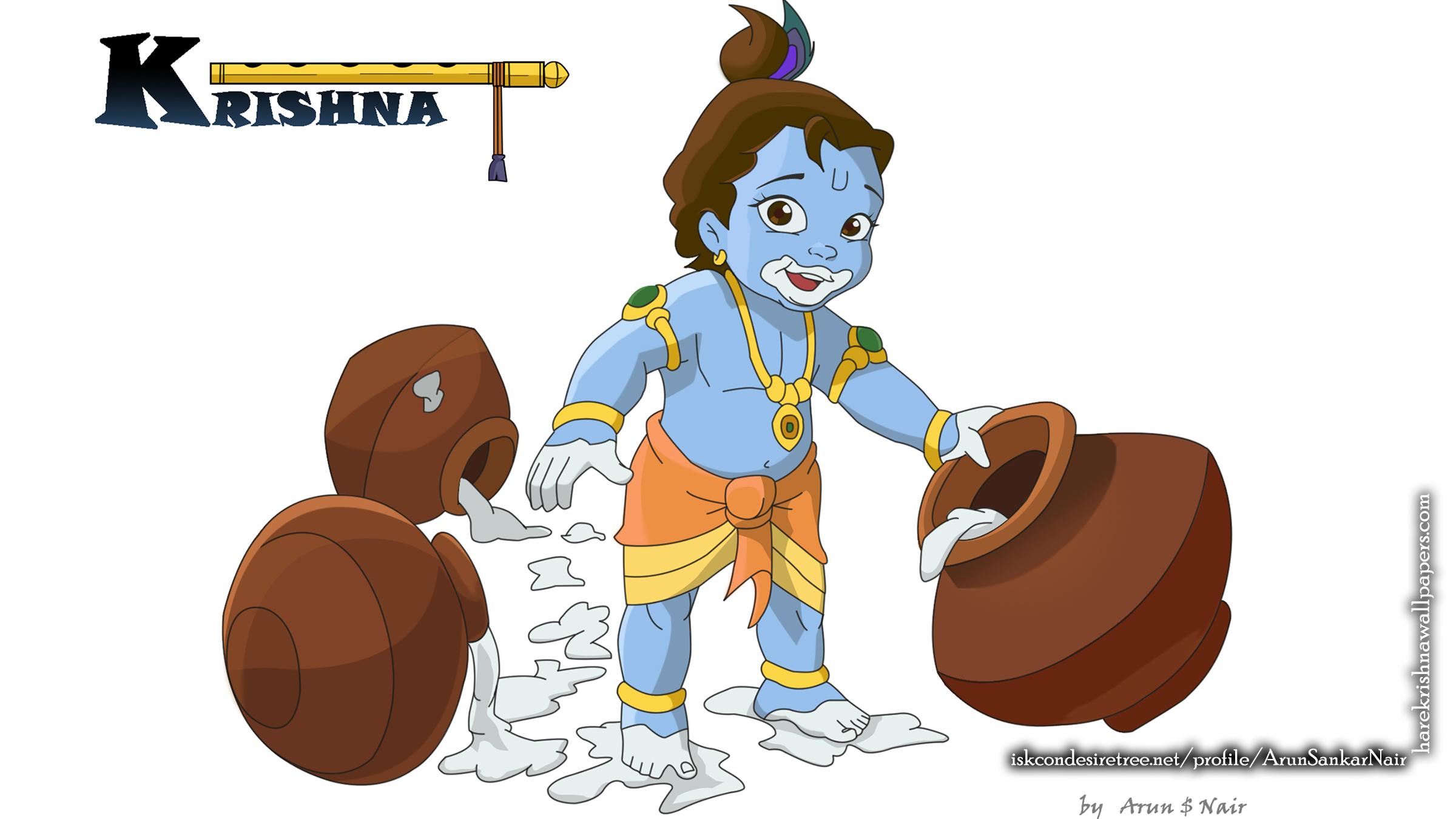 Krishna Wallpaper (017) Size 2400x1350 Download