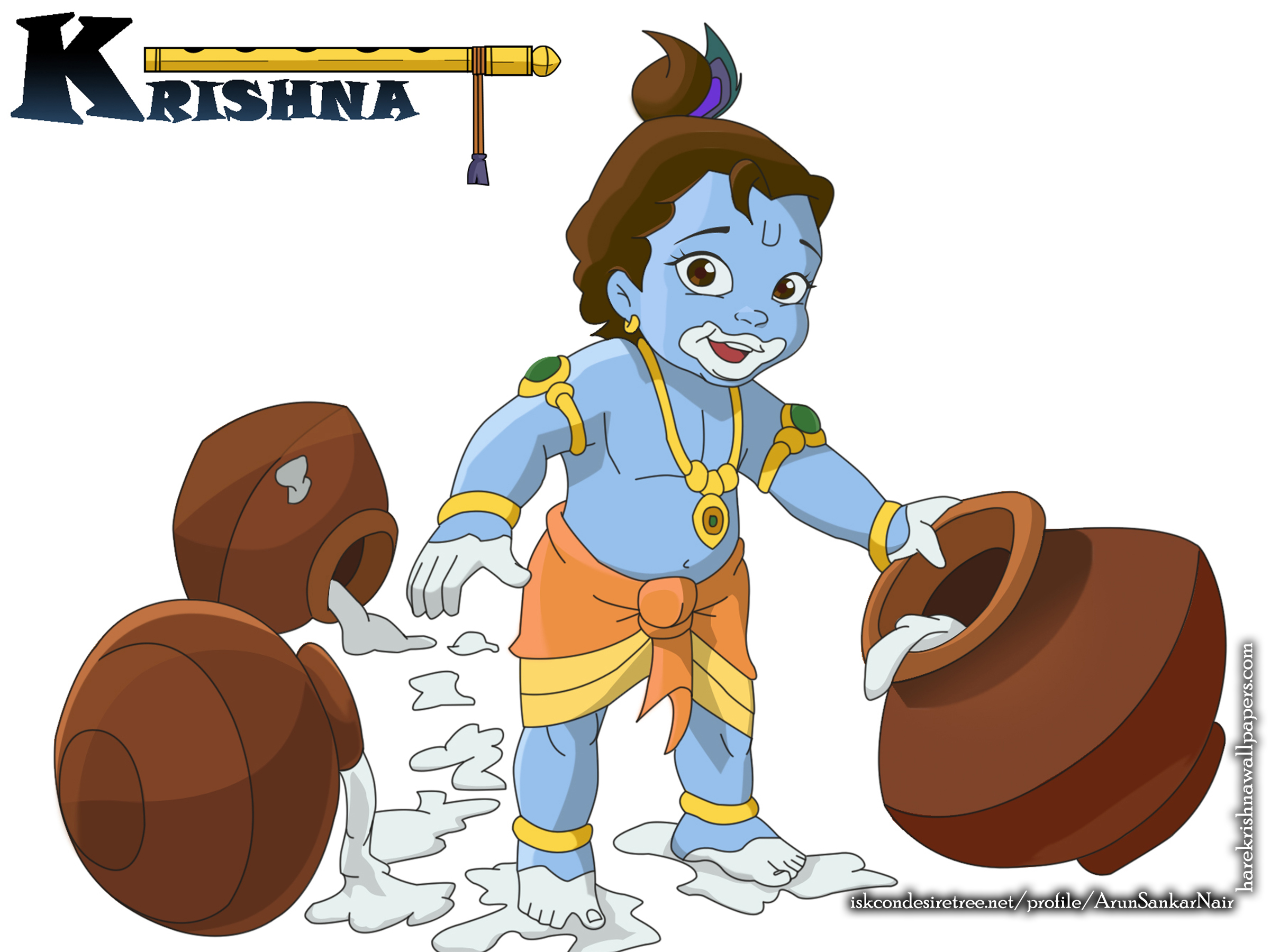 Krishna Wallpaper (017) Size 2400x1800 Download