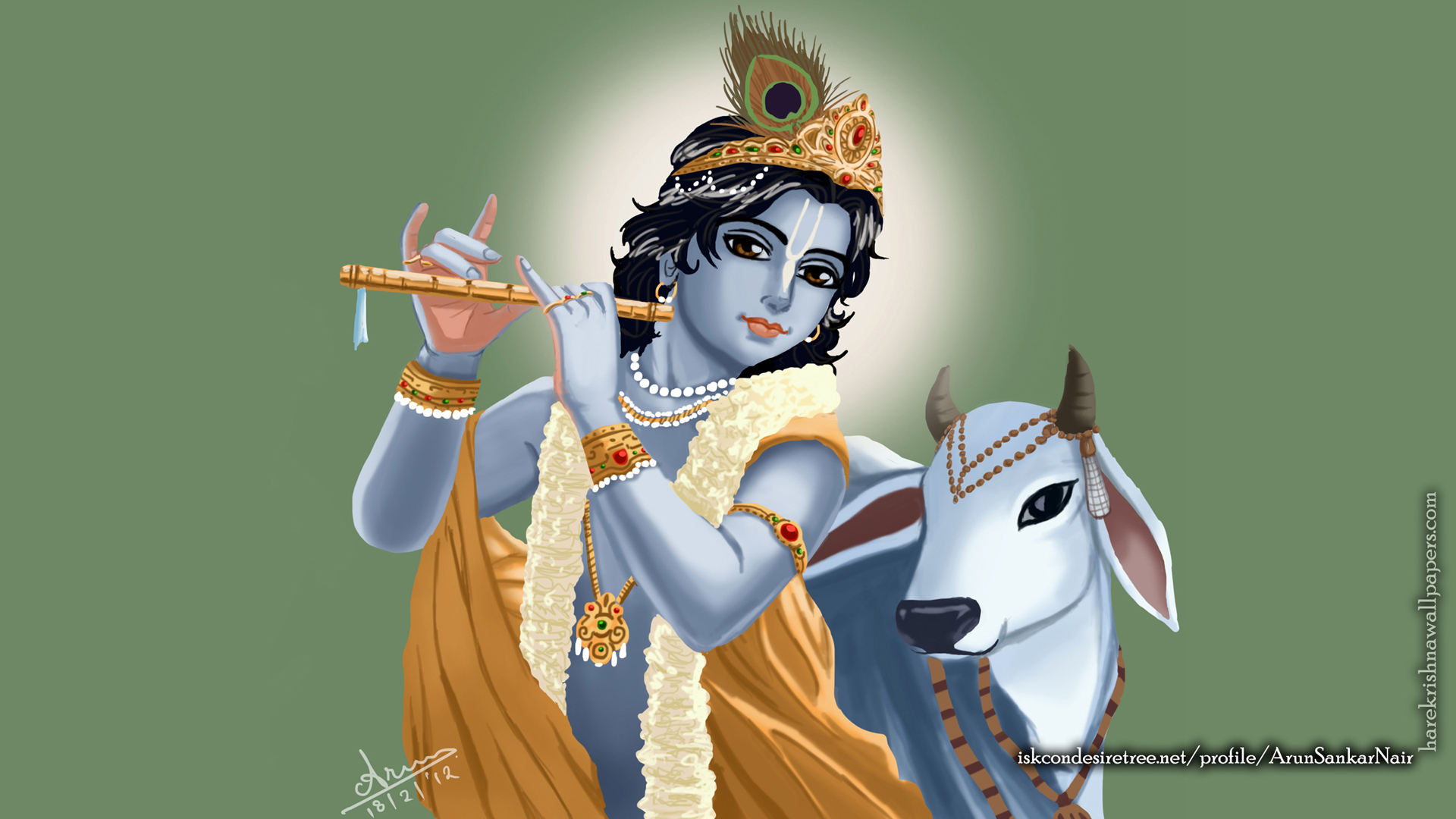 Krishna Wallpaper (018) Size 1920x1080 Download