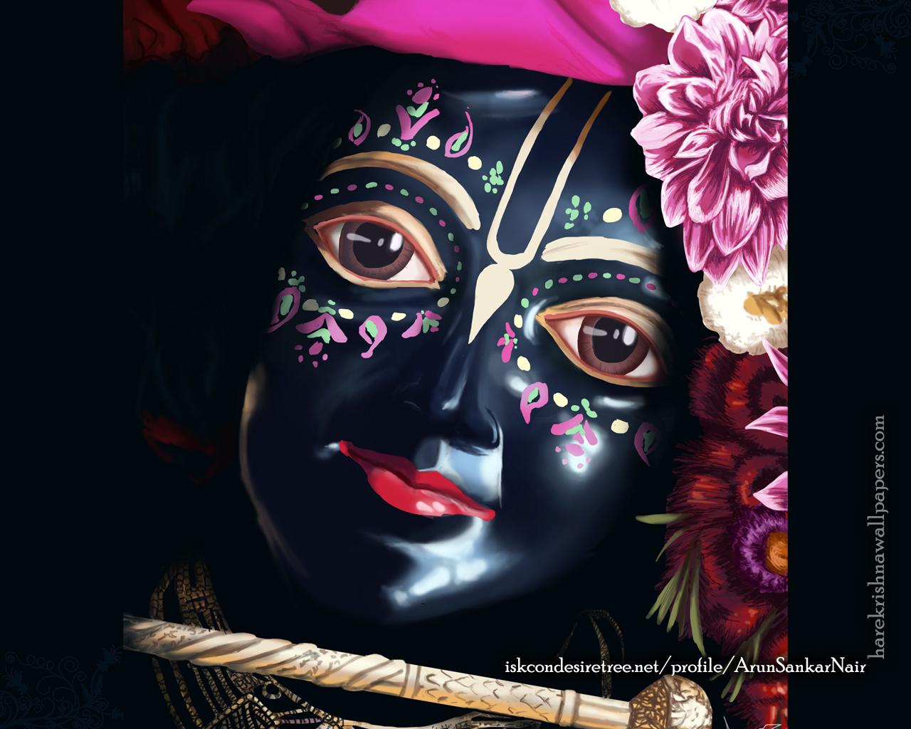Krishna Wallpaper (020) Size 1280x1024 Download