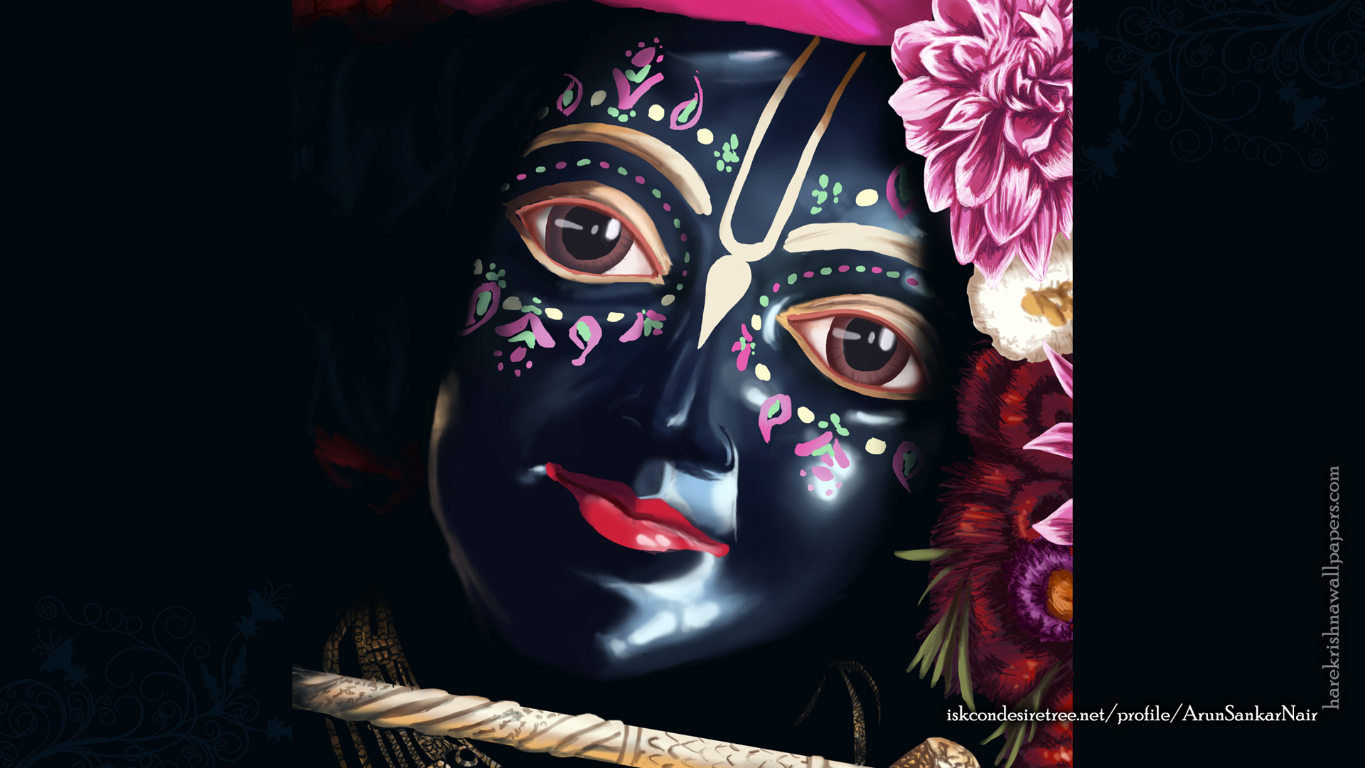 Krishna Wallpaper (020) Size 1920x1080 Download