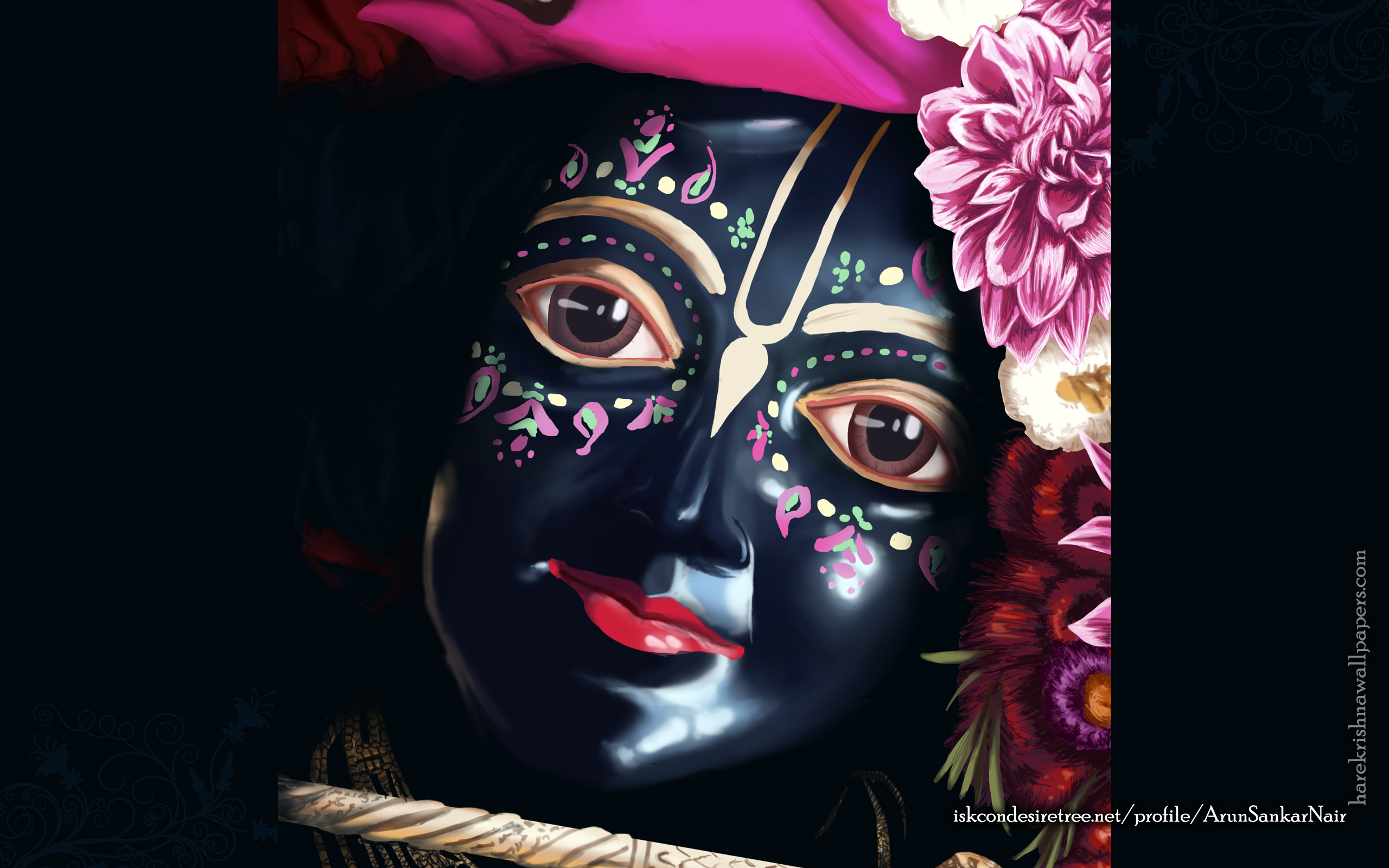 Krishna Wallpaper (020) Size 2560x1600 Download
