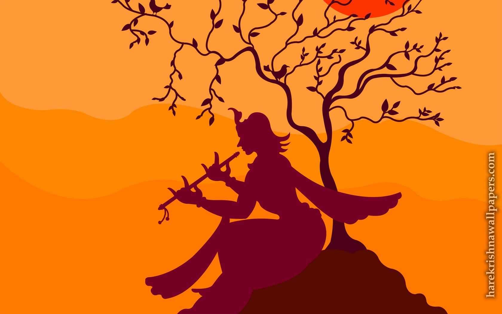 Krishna Wallpaper (023) Size 1680x1050 Download