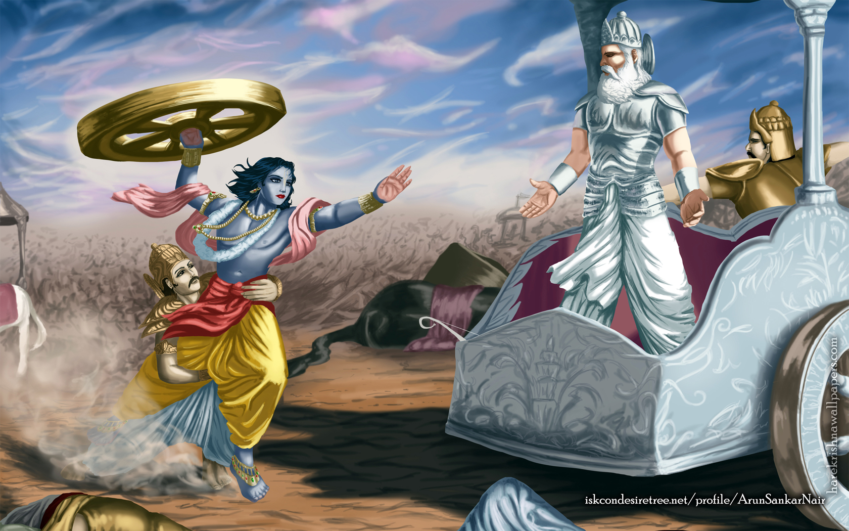 Krishna Wallpaper (024) Size 1680x1050 Download