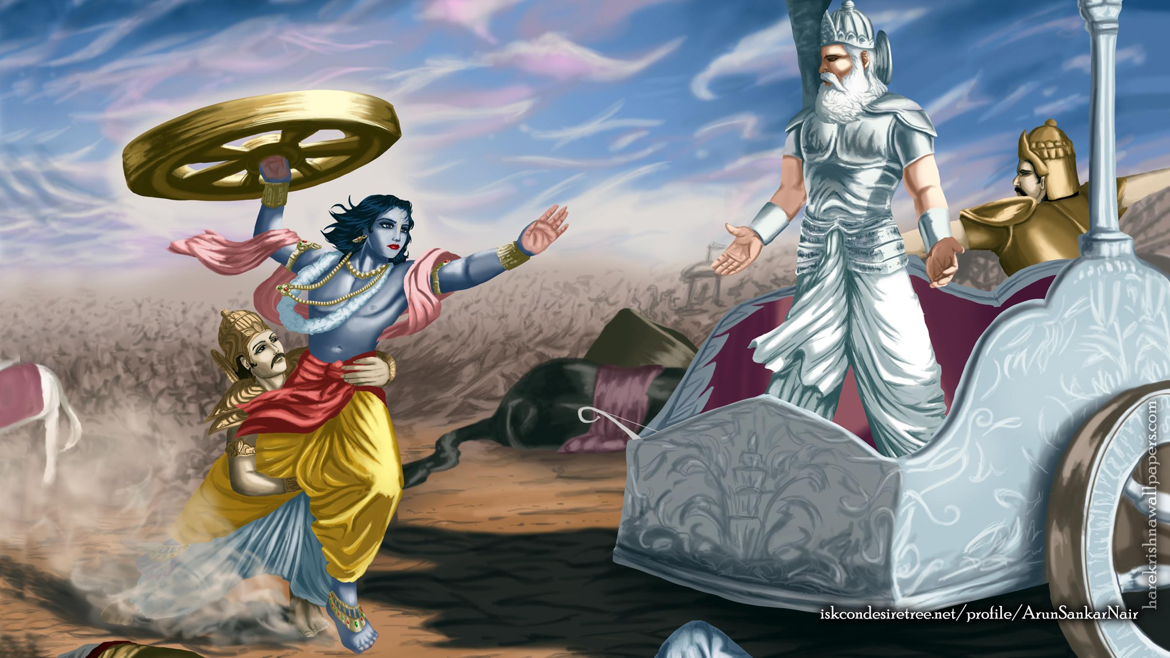 Krishna Wallpaper (024) Size 2400x1350 Download