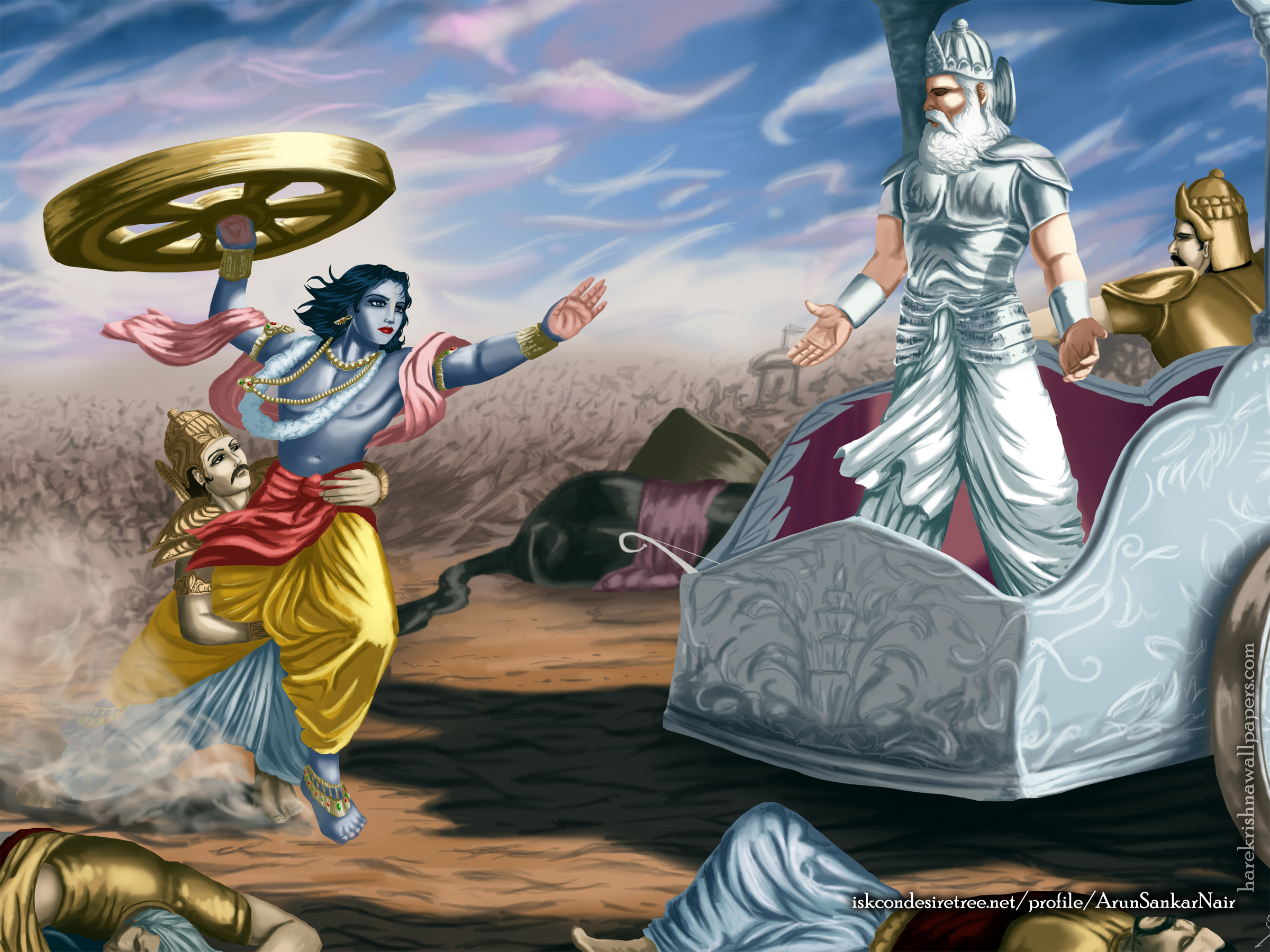 Krishna Wallpaper (024) Size 2400x1800 Download