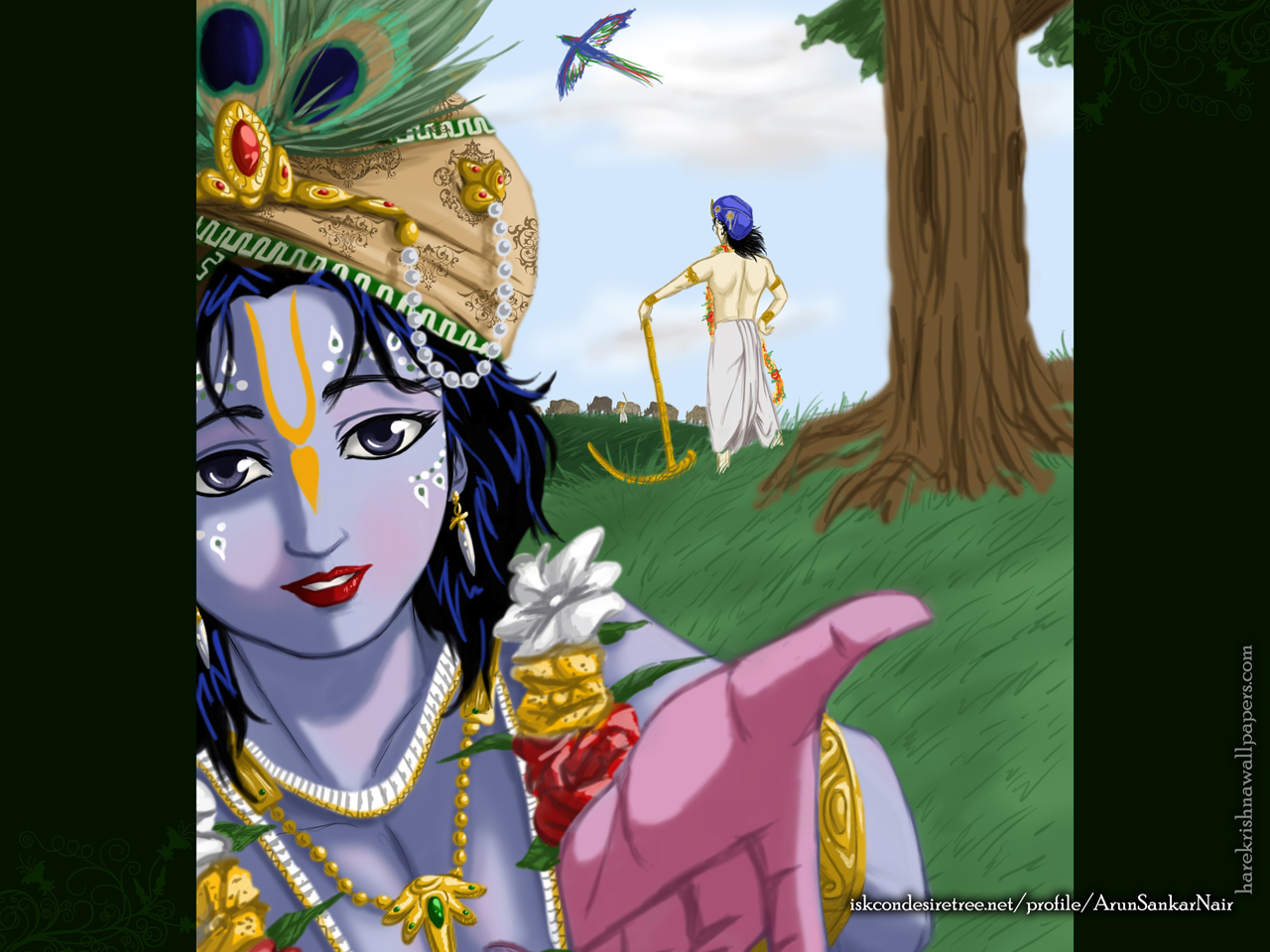 Krishna Wallpaper (025) Size 1280x960 Download