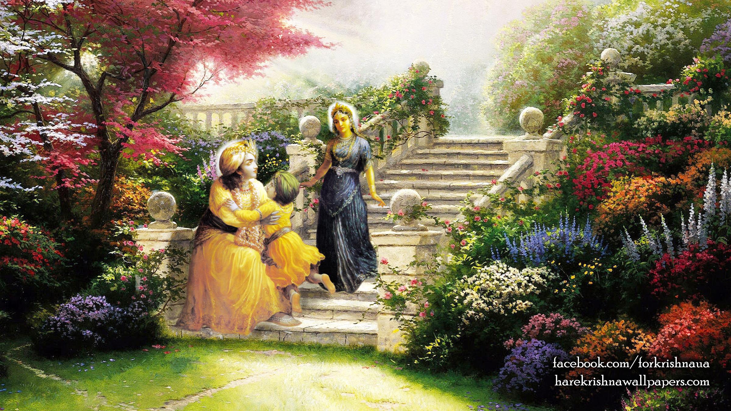 Krishna Wallpaper (027) Size 2400x1350 Download