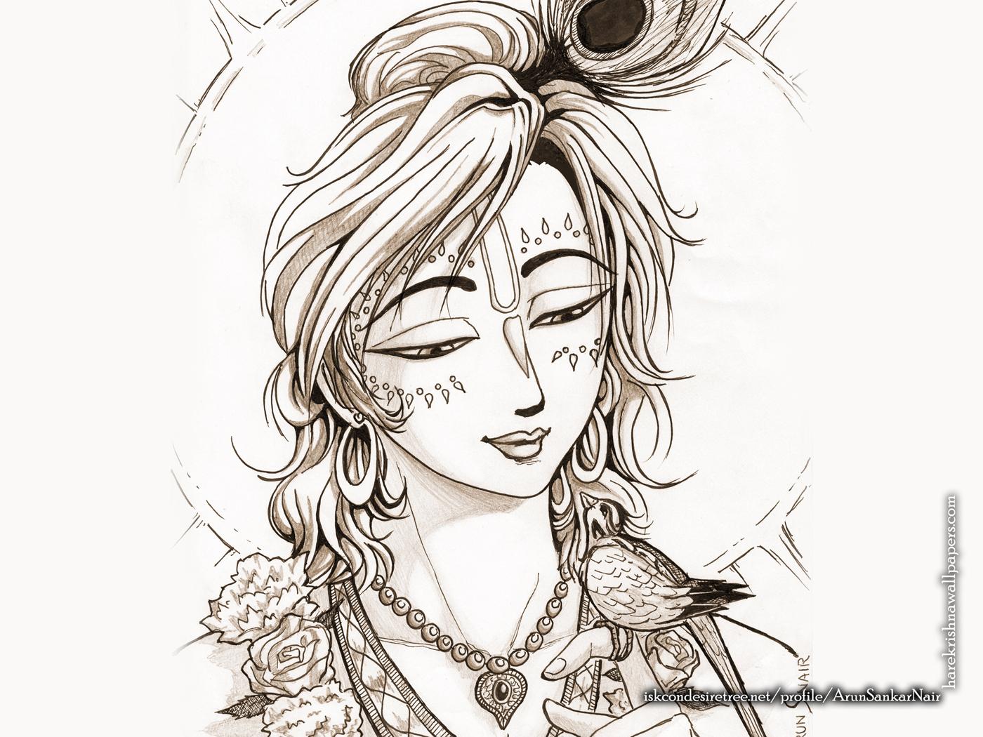Krishna Wallpaper (028) Size 1400x1050 Download