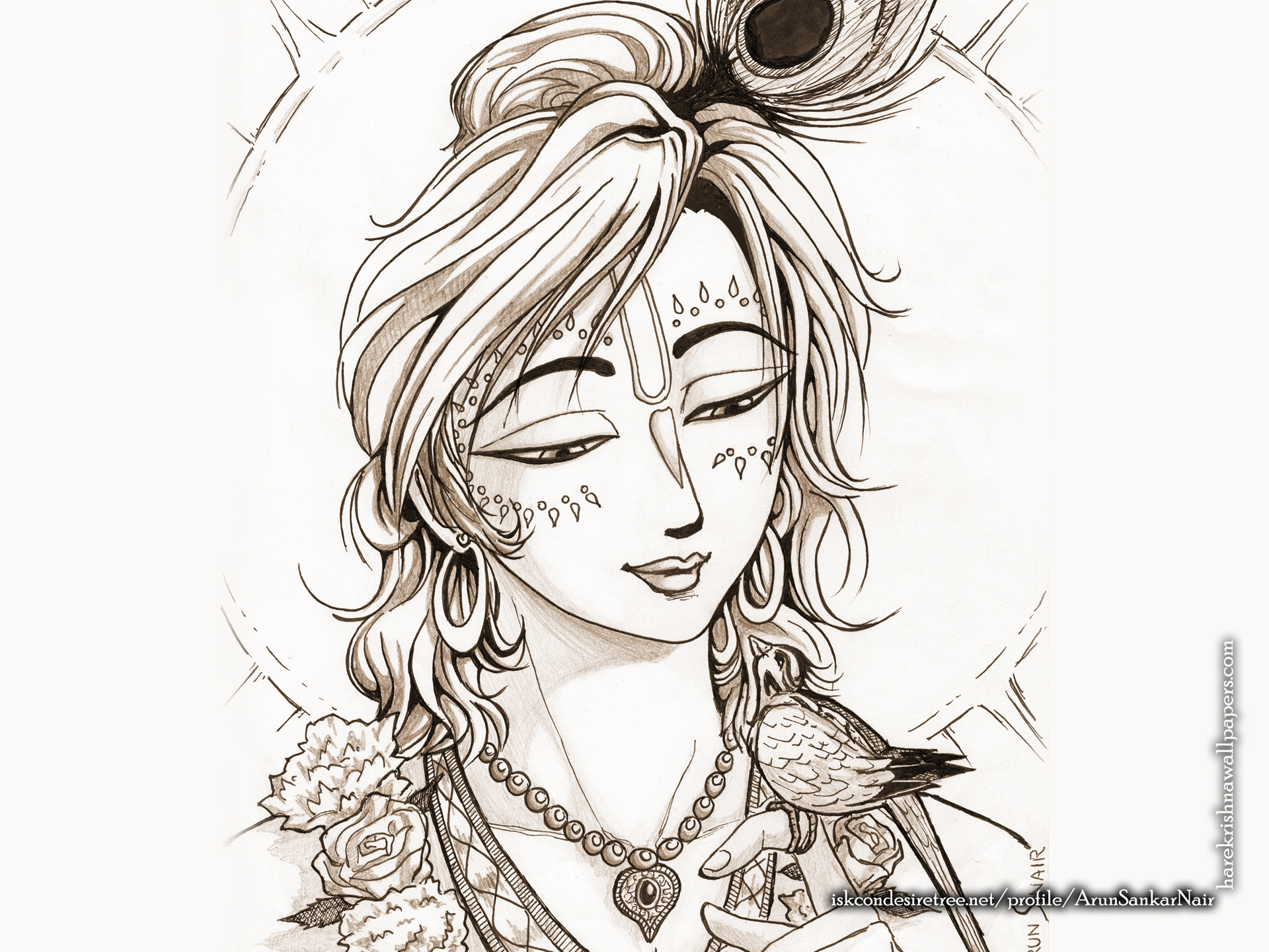 Krishna Wallpaper (028) Size 1920x1440 Download