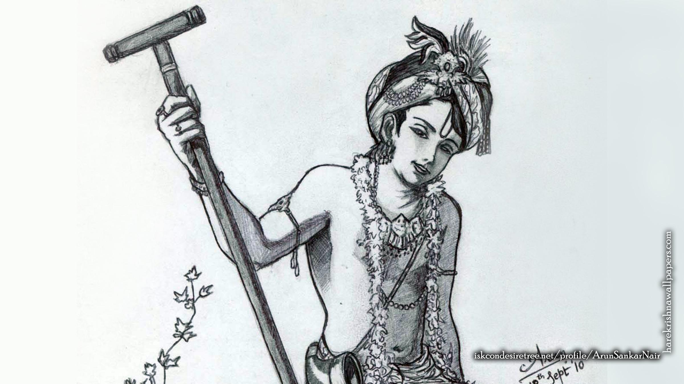 Krishna Wallpaper (029) Size 2400x1350 Download