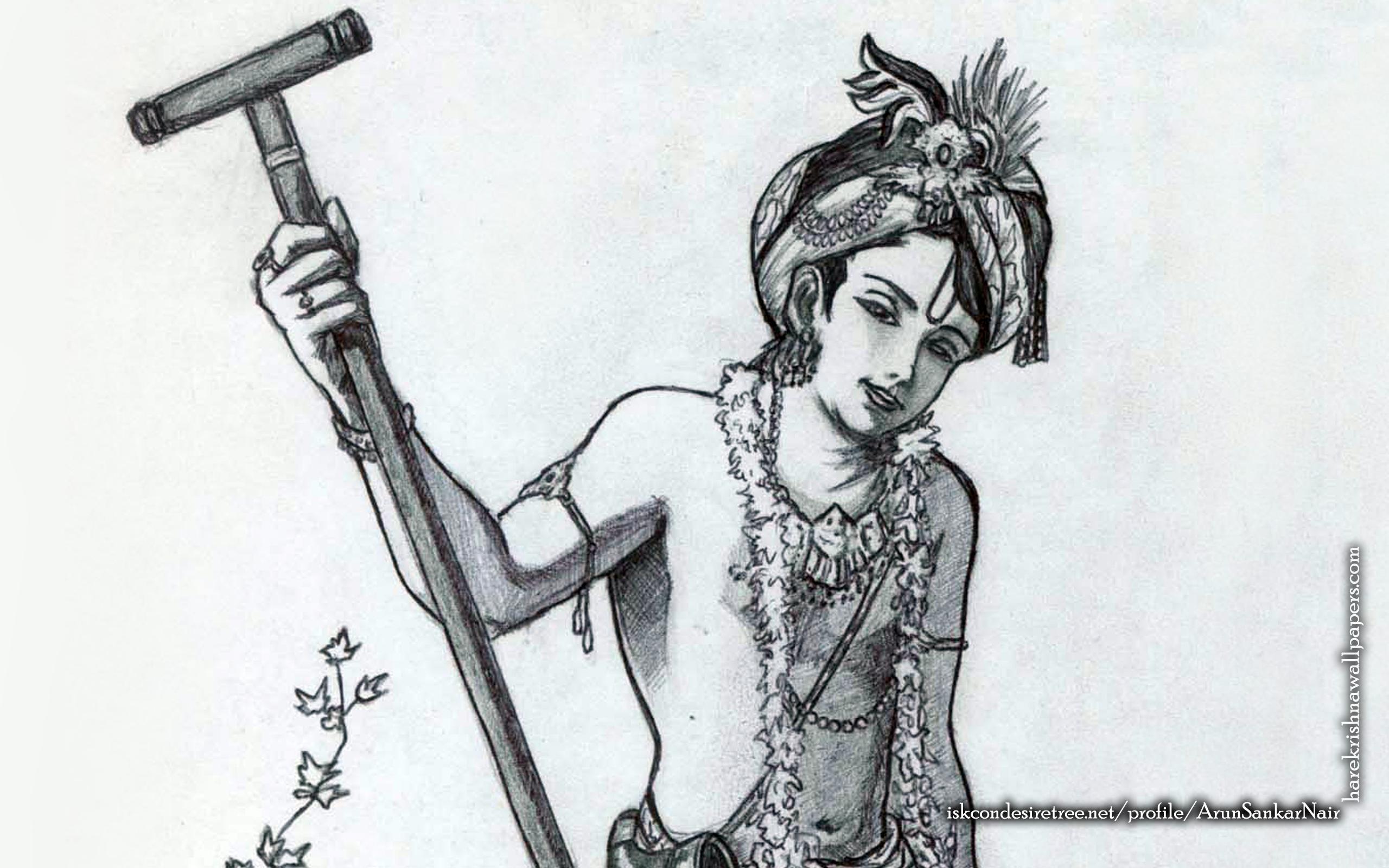 Krishna Wallpaper (029) Size 2560x1600 Download