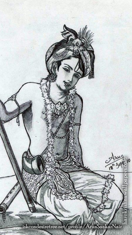 Krishna Wallpaper (029) Size 450x800 Download