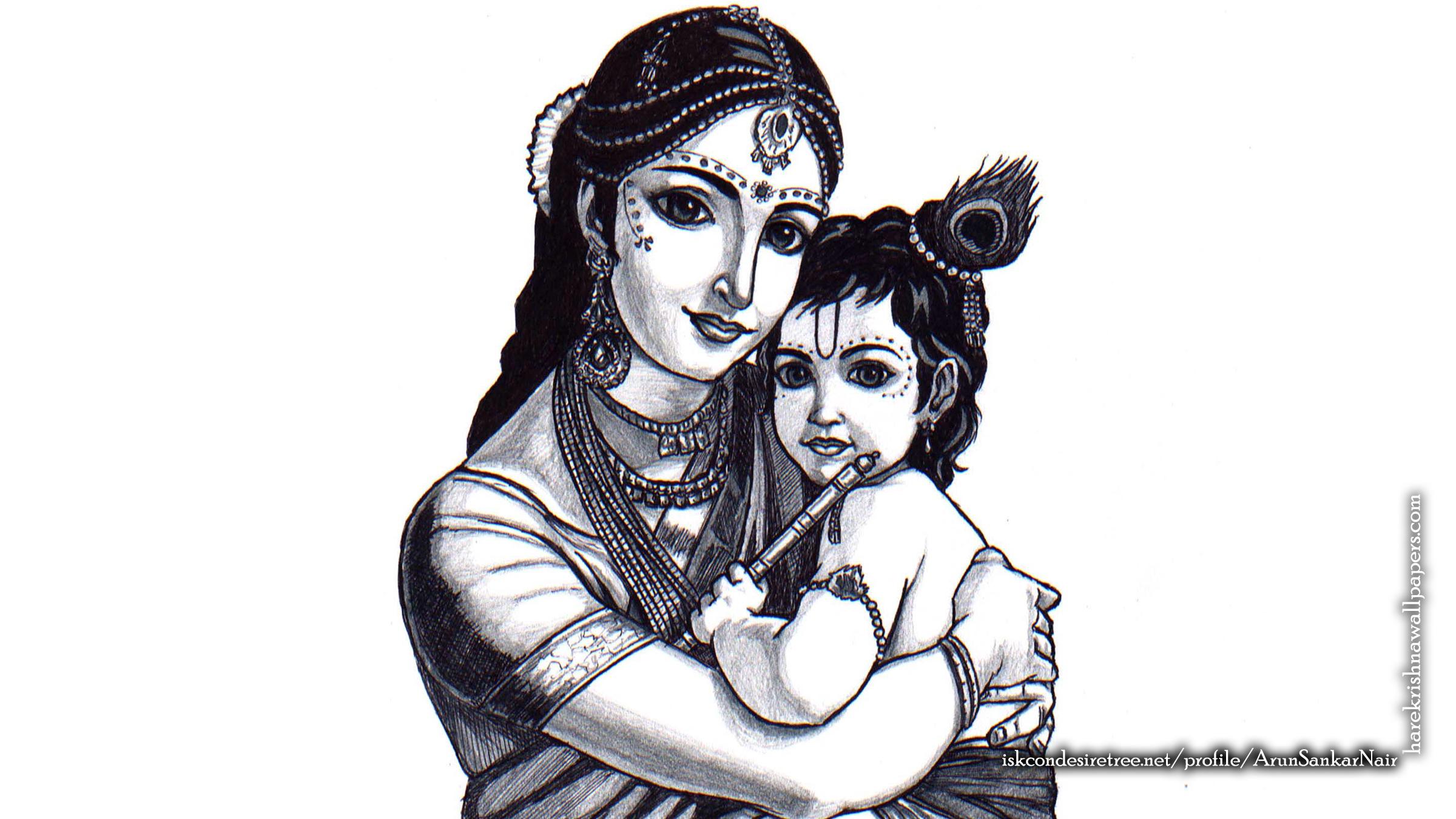 Krishna Wallpaper (031) Size 2400x1350 Download
