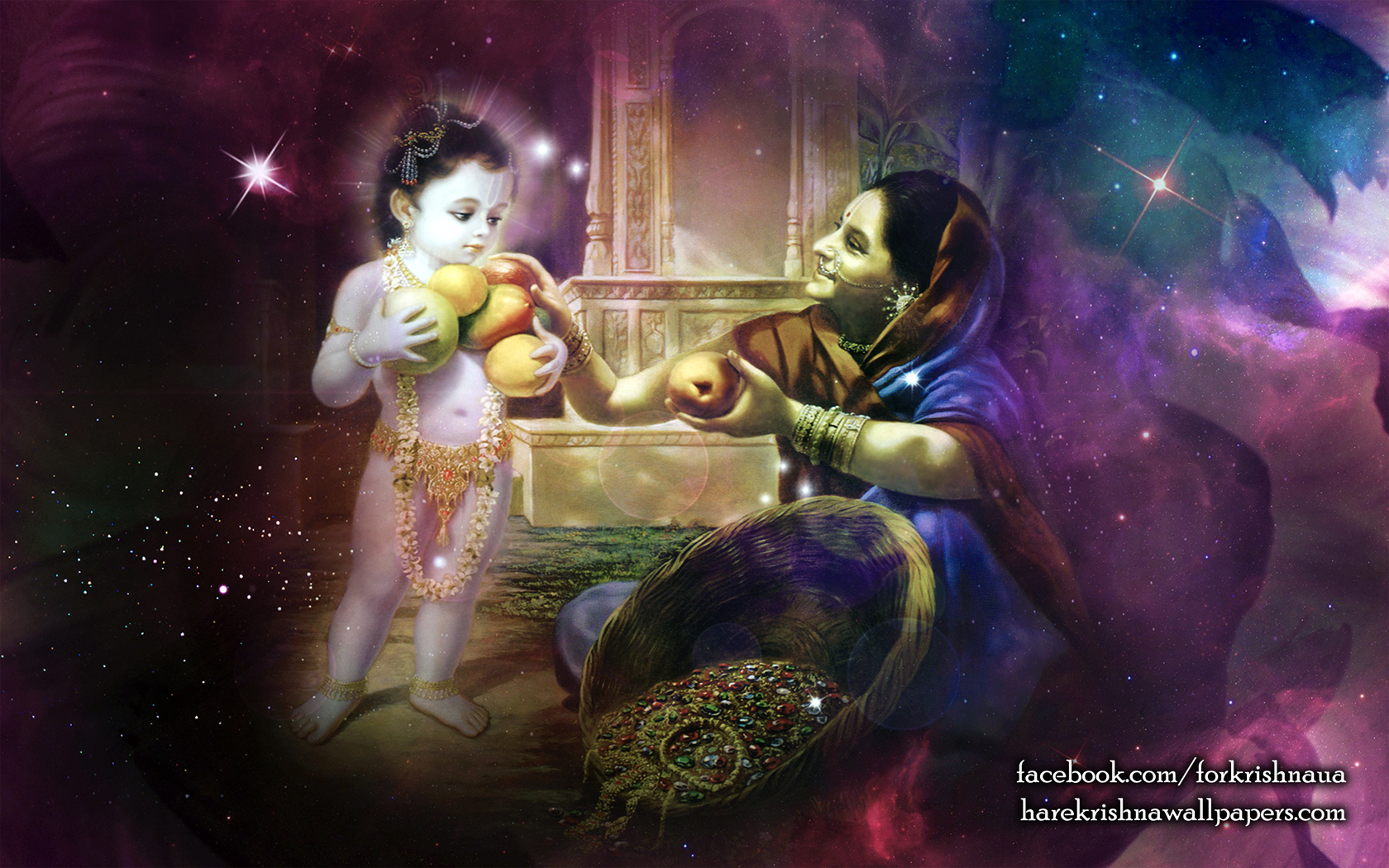 Krishna Wallpaper (032) Size 1680x1050 Download