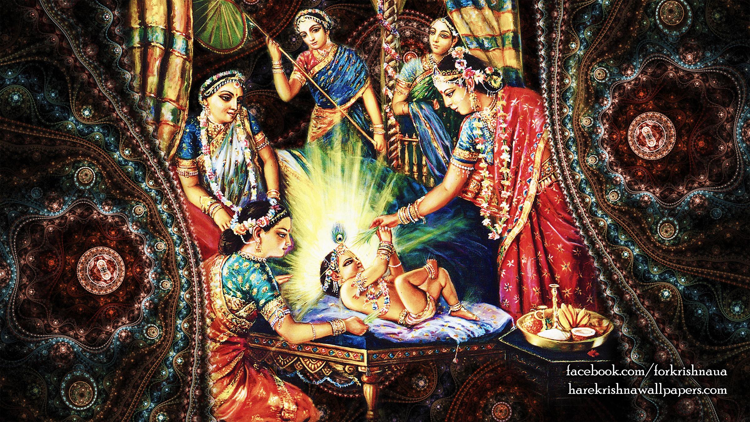 Krishna Wallpaper (033) Size 2400x1350 Download