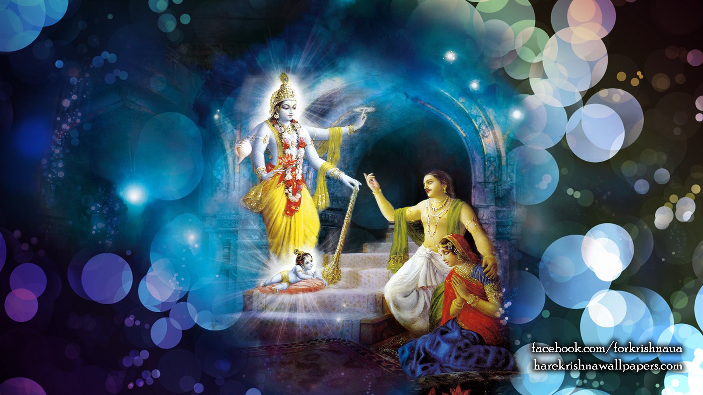 Krishna Wallpaper (034) Size 2400x1350 Download